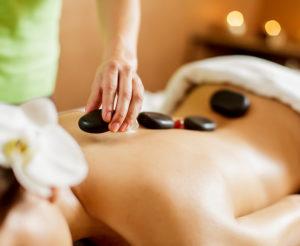 visuel massage à la pierre chaude