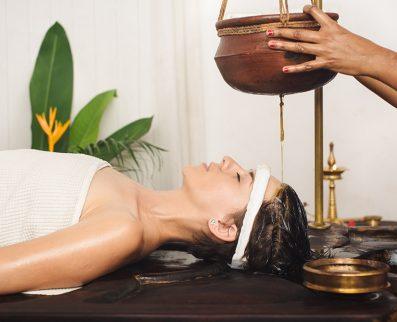 image massage ayurvedique